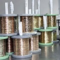 Gold Wires For Jewellery Manufacture by Ria Novosti