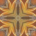 Golden Abstarct Energy by Deborah Benoit