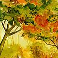 Golden Autumn Day by Brenda Owen