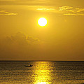 Golden Bahamas Sunset by Kimberly Perry
