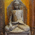 Golden Buddha by Diana Haronis
