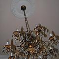 Golden Chandelier by LeeAnn McLaneGoetz McLaneGoetzStudioLLCcom
