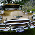 Golden Chevy by John Greaves