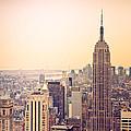 Golden City Of New York by Heidi Reyher