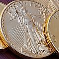 Golden Coins II by Joe Carini - Printscapes