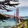 Golden Gate Bridge by Paulette B Wright
