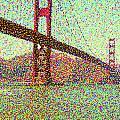 Golden Gate Bridge by Peggy Starks