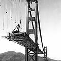 Golden Gate Bridge Work by Underwood Archives