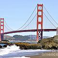 Golden Gate On A Sunny Day by Kim Frank