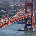 Golden Gate Traffic by Wes and Dotty Weber