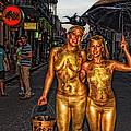 Golden Girls Of Bourbon Street  by Kathleen K Parker