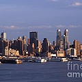 Golden Glow Of New York City by Living Color Photography Lorraine Lynch