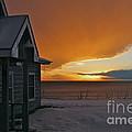 Golden Sunset by Rick  Monyahan