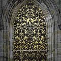 Golden Window - St Vitus Cathedral Prague by Christine Till