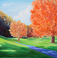 Golf Course In The Fall 1 by Todd Bandy