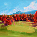 Golf Course In The Fall 2 by Todd Bandy