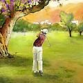 Golf In Spain Castello Masters  04 by Miki De Goodaboom