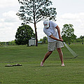Golf Swing by Ronald Olivier