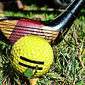 Golf - Tee Time With A 3 Iron by Paul Ward