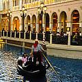 Gondola Ride Inside Venetian Hotel by Jon Berghoff