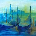 Gondolas by Khromykh Natalia