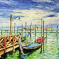 Gondolla Venice by Conor McGuire