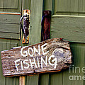 Gone Fishing by Kathy  White