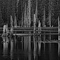 Goose Lake Dusk by Wes and Dotty Weber