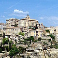 Gordes In Provence by Carla Parris