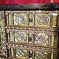 Gorgeous Star Of David Antique Golden Chest Closet Jewish Origin Close Up In Segovia Castle Spain by John Shiron