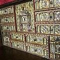 Gorgeous Star Of David Antique Golden Chest Jewish Origin In Segovia Castle Spain by John Shiron