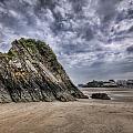 Goscar Rock Tenby 2 by Steve Purnell