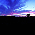 Gotland Windmill Midsummer by Jan W Faul