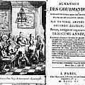 Gourmands Almanac, 1806 by Granger