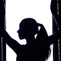 Graceful Silhouette by Jenny Rainbow
