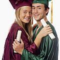 Graduation Couple by Tomas del Amo