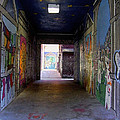 Graffiti Walkway by Richard Gregurich