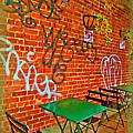 Grafitti Dining by Joan  Minchak