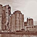 Grain Elevators St by Michael Frank Jr