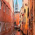 Grand Canal - Venice by Luciano Mortula