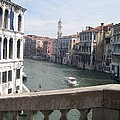 Grand Canal From A Bridge by Angela  Rose