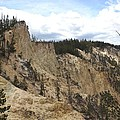 Grand Canyon Cliff In Yellowstone by Living Color Photography Lorraine Lynch