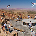 Grand Canyon Fly By-2 by Larry Mulvehill