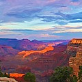 Grand Canyon Grand Sky by Heidi Smith