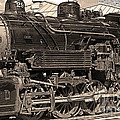 Grand Canyon Railroad Locomotive by Randy Harris