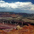 Grand Canyon View - Greeting Card by Mark Valentine