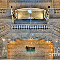 Grand Central Terminal East Balcony I by Clarence Holmes