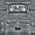 Grand Central Terminal East Balcony II by Clarence Holmes