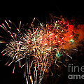 Grand Haven Mi Fireworks by Robert Pearson