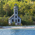 Grand Island E Channel Lighthouse 3 by John Brueske